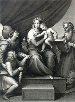 Auguste Gaspard Louis Desnoyers - Image: Auguste Gaspard Louis Desnoyers Madonna del Pesce, 1822