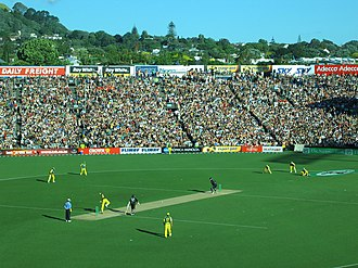 Chappell–Hadlee Trophy - Action from a Chappell–Hadlee Trophy match on 3 December 2005