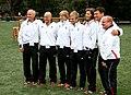 Austrian Olympic Team 2012 c Udo Quellmalz, Othmar Haag, Sabrina Filzmoser, Ludwig Paischer, Hilde Drexler, Taro Netzer, Klaus-Peter Stollberg.jpg