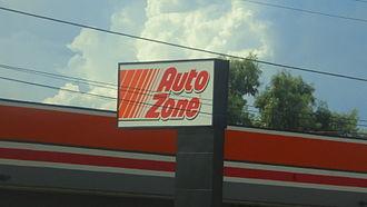AutoZone - Auto Zone store sign in Phoenix, Arizona