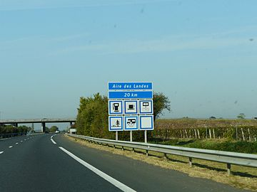 liste des signaux routiers de services en france wikip dia. Black Bedroom Furniture Sets. Home Design Ideas
