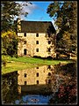 Autumn Reflections at George Washington's Gristmill (37975308991).jpg