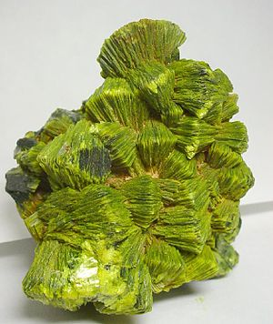 Spokane County, Washington - Image: Autunite 20885