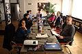 Bělehrad, Open GLAM, diskuze na téma GLAm spolupráce.jpg
