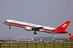 B-2858 - Shanghai Airlines - Boeing 757-26D - CAN (11353186223).jpg