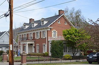 National Register of Historic Places listings in Floyd County, Kentucky - Image: B.F. Combs House