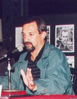 Eduardo Risso - Eduardo Risso at the comic convention Leyendas, in Rosario (Argentina), 2001.