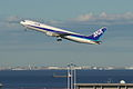 B767-300 take off (Tokyo international airport RWY 34R) (263056608).jpg