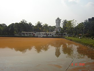 Bangladesh Agricultural University - A mosque in the BAU residential area