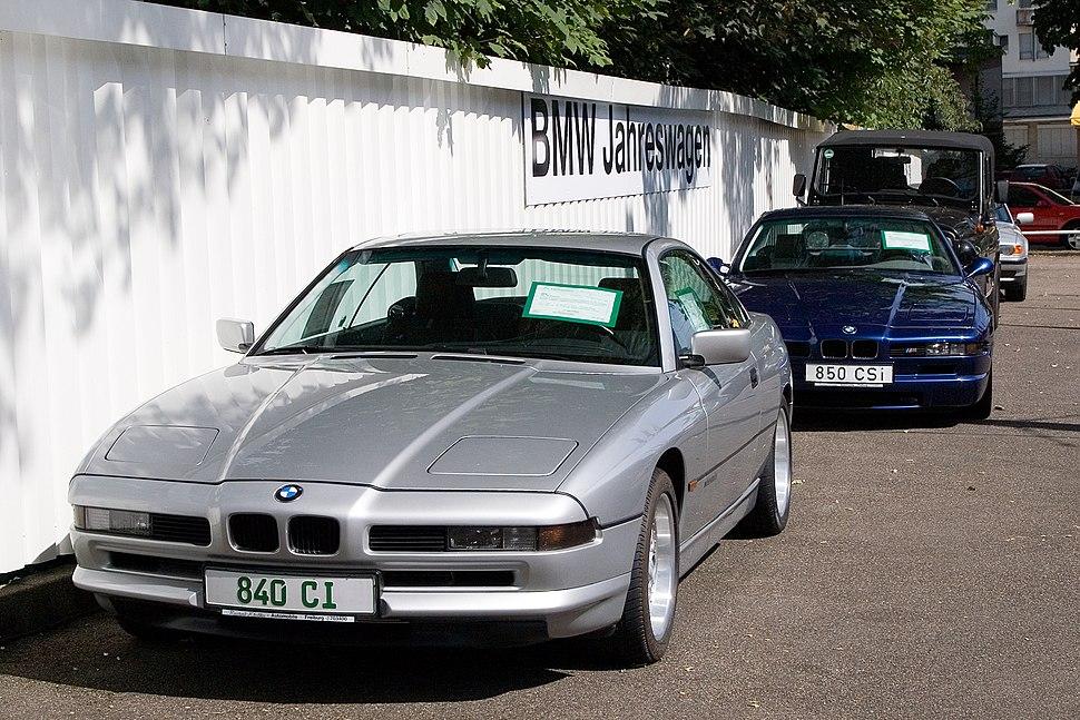 BMW E31 840Ci and 850CSi