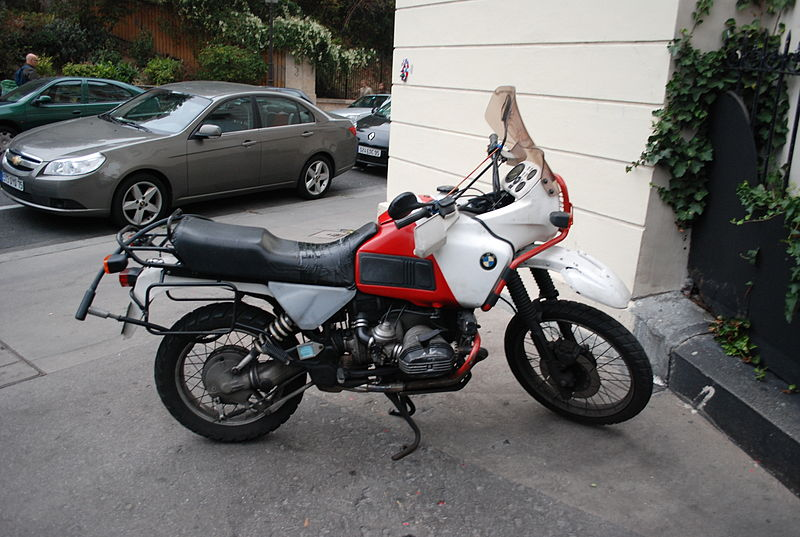 File:BMW R100GS Paris Dakar.jpg