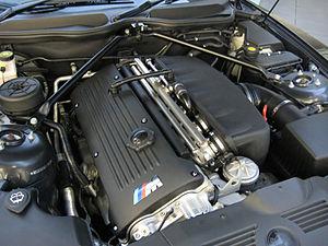 BMW M54 - Image: BMW S54B32 Engine