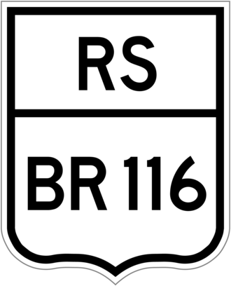 BR-290 - Image: BR 116 rs