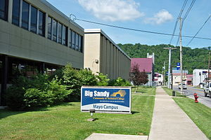 Big Sandy Community and Technical College - Image: BSCTC Mayo Campus