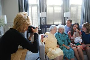 Alison Jackson - Jackson photographing the Royal Family, posed by lookalikes