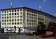 Der Hauptsitz der BVG; früher Verwaltungsgebäude der Deutschen Milchwirtschaft und der Bauleitung der Reichsautobahn
