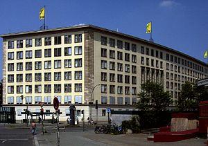 Berliner Verkehrsbetriebe - Former BVG headquarters on Potsdamer Straße