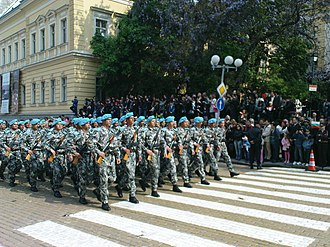 Bulgarian Armed Forces Day - Image: BVVS Parade