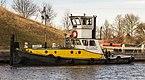 Baggerwerkzaamheden op de Langwarder Wielen. Duw-Sleepboot Butskop 02.jpg