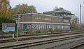 Bahnhof Ahrensfelde 01 Stellwerk Ahr.JPG
