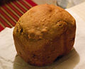 Baked loaf from Bread Machine (2657935143).jpg