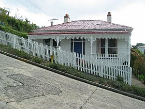 Baldwin Street - A house on Baldwin Street
