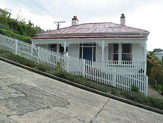 Baldwin Street - A house on Baldwin Street