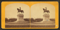 Ball's statue of Washington, from Robert N. Dennis collection of stereoscopic views 2.png