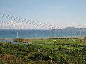 Bangui, Ilocos Norte - Image: Bangui Windmills 02