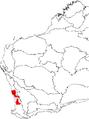 Banksia telmatiaea map.png