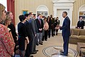 Barack Obama with Inaugural National Citizen Co-Chairs.jpg