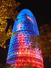 Torre Agbar tại Barcelona, do Jean Nouvel thiết kế