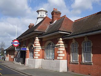 Barkingside - Barkingside Underground Station