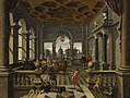 Bartholomeus van Bassen - Lazarus im Palast des reichen Mannes - 4970 - Bavarian State Painting Collections.jpg