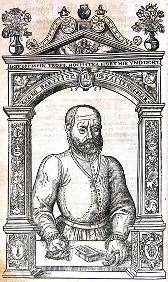 Georg Bartisch - Portrait (1583)