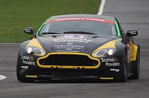 Aston Martin Vantage GT4 - Barwell-Beechdean Vantage GT4 at Brands Hatch in 2009