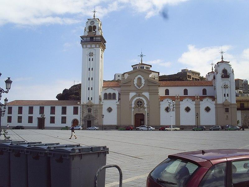 Basílica de Nuestra Señora de la Candelaria på Tenerife