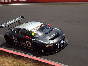 Bathurst 12 Hour - The Audi R8 LMS GT3 which won the 2011 race, the first to include GT3 entries.