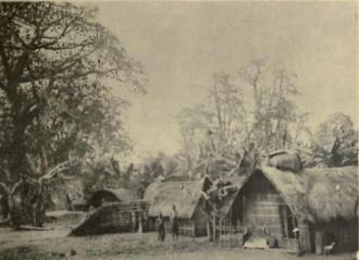 Timeline of Kinshasa - Image: Bateke Village, Kinshasa Starr, Frederick, Congo natives an ethnographic album (1912)