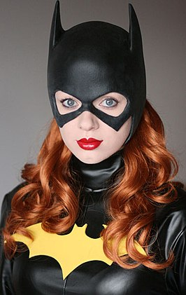 Cosplayer - Barbara Gordon als Batgirl, 2012.