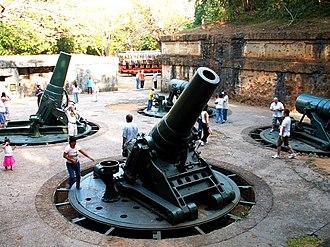 Harbor Defenses of Manila and Subic Bays - Image: Battery Way