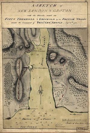 Battle Of Groton Heights Wikipedia