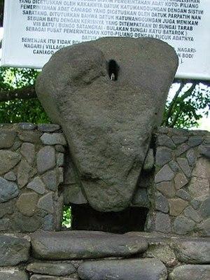 Batu Batikam - Batu Batikam in West Sumatera, Indonesia