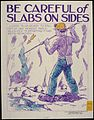 Be careful of slabs on slides - NARA - 535304.jpg