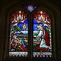 Beauchamp Roding - St Botolph's Church - Essex England - chancel Resurrection of Christ window.jpg