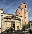 Bedarieux - Façade sud-est de l'église Saint-Alexandre.jpg