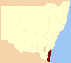 Bega NSW State Electoral District.png