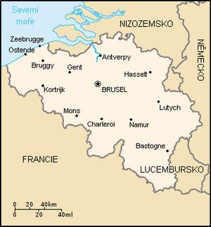 Geografia belgicka