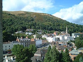 Belle Vue Terrace, Malvern from the top of Priory Church - geograph.org.uk - 3493.jpg