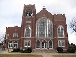 Centre Township, Berks County, Pennsylvania - Belleman's Union Church in Centre Township